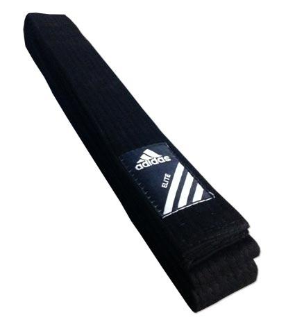 exagerar violento Claire  Cinturon negro Adidas Elite