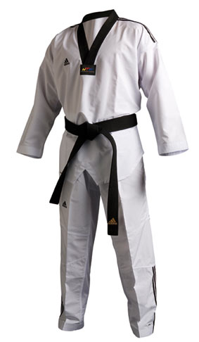 Dobok ADIDAS Fighter col noir