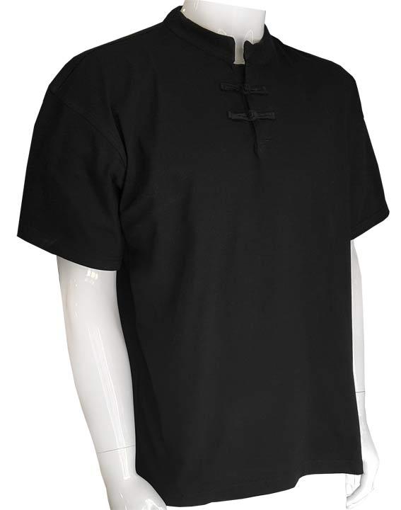 d82ac95de8dd Mandarin collar Tee Shirt