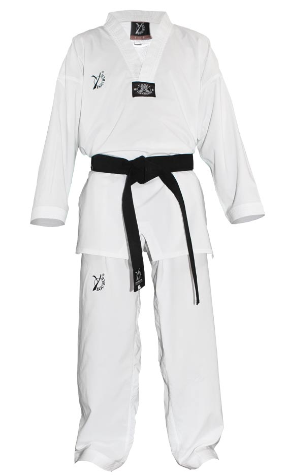 Color Blanco Blitz White Diamond Kimono de Karate