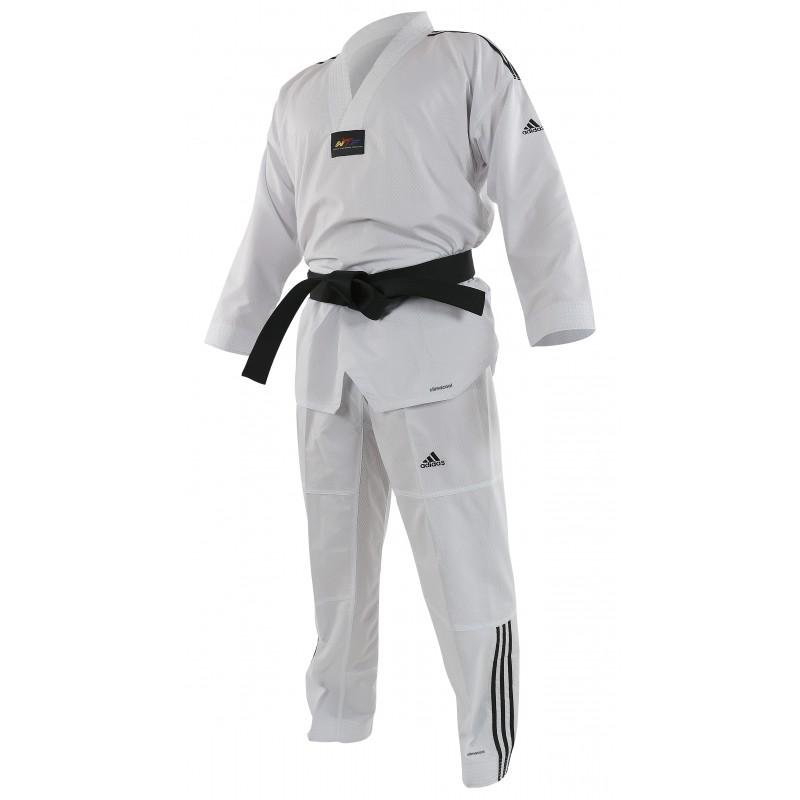 Dobok Adidas CONTEST cuello blanco