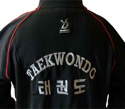 professional sale brand new store Survêtement brodé TAEKWONDO noir