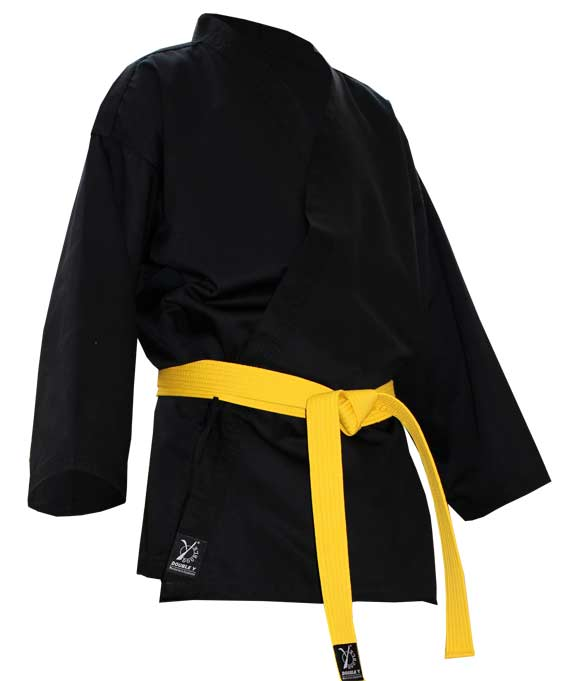 new specials buy popular classic fit Black Karate suit