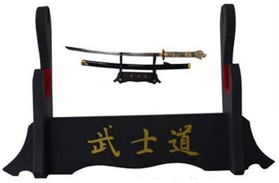 soporte de cuello de cisne para exposici/ón de espada samurai Soporte vertical para katana L-58cm