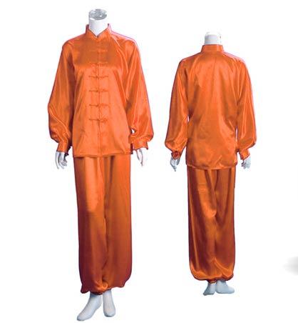 Coton Orange Tenue de Shaolin